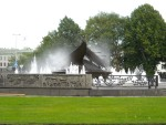 Fountain dedicated to Whaling