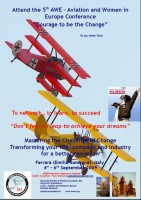 Highlight for Album: AWE09 - 5th Aviation and Women in Europe Conference - Ferrara, Italy