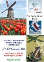 Highlight for Album: AWE 2011 - 7th Aviation and Women in Europe Conference - Amsterdam NL
